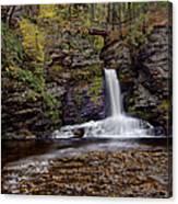 Deer Leap Falls Canvas Print