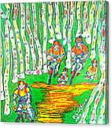 Deer Valley Mountain Biking 1 Canvas Print
