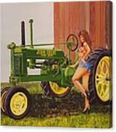 1938 Model B John Deere Canvas Print