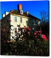 Deerfield House 1 Canvas Print