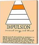 Impulsion Defined Canvas Print