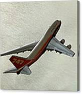 Definition - Boeing 747 Canvas Print