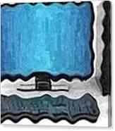 Deformed Computer Canvas Print