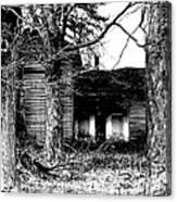 Defunct Farm Canvas Print