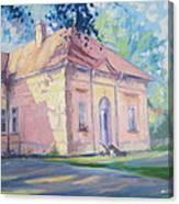 Degenfeld Castle Canvas Print