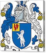 Dehany Coat Of Arms Irish Canvas Print
