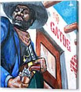 Del Gato's Place Canvas Print
