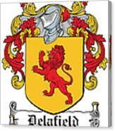 Delafield Coat Of Arms Irish Canvas Print