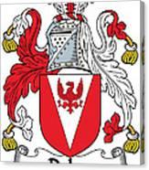 Delap Coat Of Arms Irish Canvas Print