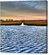 Delaware- Assawoman Bay Canvas Print