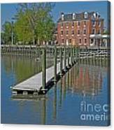 Delaware City Hotel Canvas Print