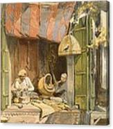 Delhi - Jeweller, From India Ancient Canvas Print
