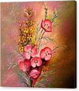 Delicate Beauty Of Spring Canvas Print