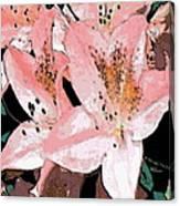 Delicate II Canvas Print