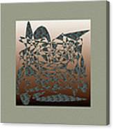 Delicate Stroke Canvas Print