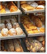 Delicious Pastries In Brussels Canvas Print