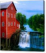 Dells Mill Canvas Print