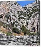 Delphi Stadium Ruins 2 Canvas Print