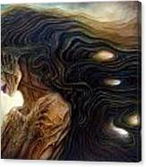 Delphic Zombie Canvas Print