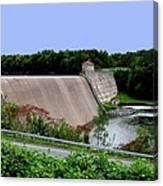 Delta Dam Canvas Print