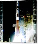 Delta Iv Rocket Canvas Print