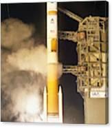 Delta Iv Rocket Taking Off Canvas Print