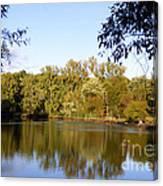 Delta Lake Reflections Canvas Print