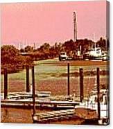 Delta Marina And Hues Of Color Canvas Print