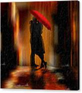 Deluge Of Love Canvas Print