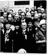 Democractic Delegates, 1920 Canvas Print