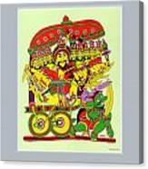 Demon King Ravana Canvas Print
