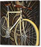 Demon Path Racer Bicycle Canvas Print