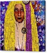 Demonica Vintage Goth Canvas Print