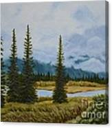 Denali Morning Canvas Print