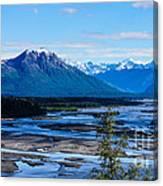 Denali Mountain Range Canvas Print