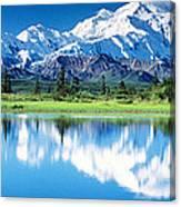 Denali National Park Ak Usa Canvas Print