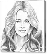 Denise Richards Canvas Print