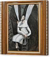 Dennice - Framed Canvas Print