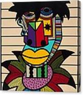 Dennis Brown Canvas Print
