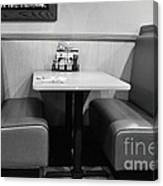 Denny's Booth Canvas Print