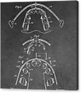 Dental Braces Patent Canvas Print
