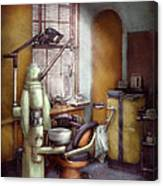 Dentist - Dental Office Circa 1940's Canvas Print