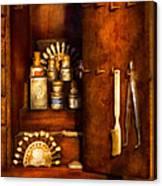 Dentist - The Dental Cabinet Canvas Print