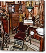 Dentist - The Dentist Chair Canvas Print