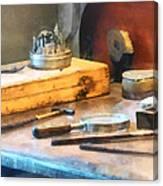 Dentist Workbench Canvas Print