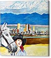 Denver 2010 Canvas Print