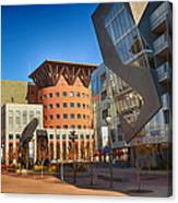 Denver Art Museum Courtyard Canvas Print