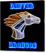 Denver Broncos 2 Canvas Print