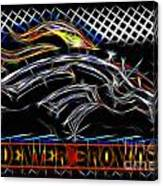Denver Broncos 4 Canvas Print