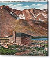 Denver Mountain Parks Antique Post Cards Canvas Print